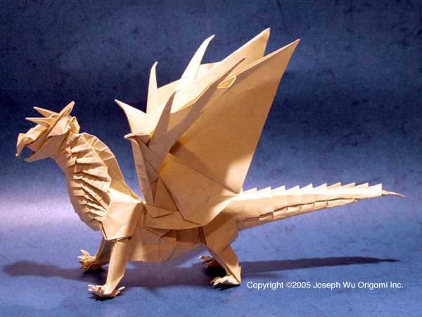 How To Make A 3 Headed Origami Dragon