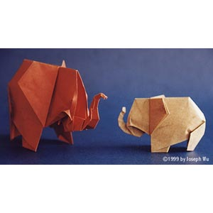 ELEPHANT INSTRUCTIONS ORIGAMI